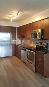 1bed+ den+ parking in 2yr brand  new condo tenant pay hydro