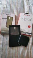 Samsung Note 3 Accessories - ZAGG, S-view Case and Charger, etc.