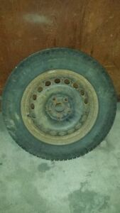 Winter Tires With Rims - 4 Michelin X-ice 195/65/R15