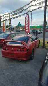 Red acura rsx Fully loaded