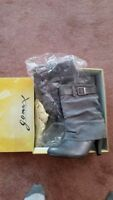 New in Box! Grey ankle boots