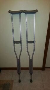 Crutches - adjustable sizing Medical mart call 519-673-9819