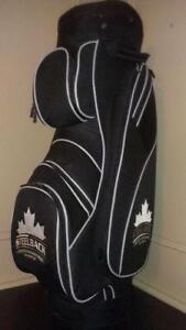 NEW Custom-made golf bag Embroidery logo CANADIAN steel back