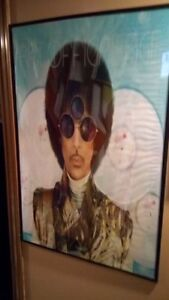 "Prince Art Official Age - 24"" x 36"" Poster in Frame"