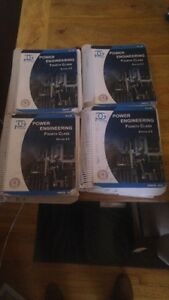 4th & 3rd Class Power Engineering Textbooks