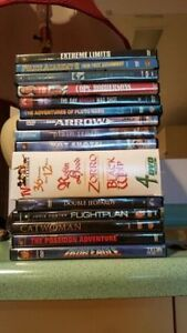 Various movies excellent condition