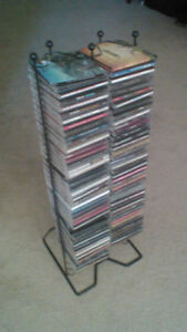 CD rack for sale for $15