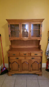 Solid Roxton Maple hutch