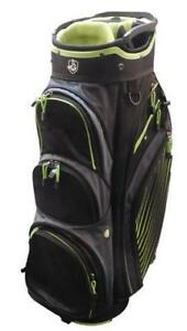 Jazz Lightweight Cart Bag Blk/Grn New