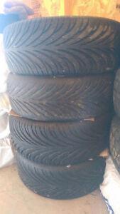CSA wheels off of Honda Accord 4 bolt 4 x 114 Kitchener / Waterloo Kitchener Area image 2