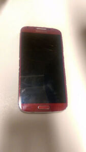 *** For repair: A red Samsung S4 plus iPod touch 2