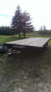 Flat deck bumper pull deck over 10000# - Price reduced!
