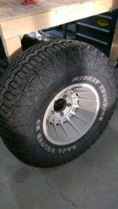 Mickey Thompson Baha belted Hp tire & Vintage rim Brand new!!!