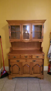 Roxton Maple Hutch $225 or best offer
