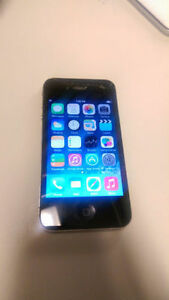 * iPhone 4s in black
