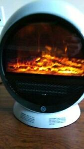 PERSONAL FIREPLACE HEATER-->>>BRAND NEW IN THE BOX!!!