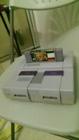 Super Nintendo Console With Donkey Kong