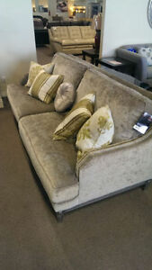 Chanel couch and Chanel Loveseat