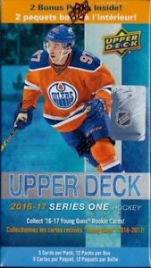 2016-17 Upper Deck Series 1 Hockey Cards Full Set