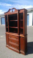 Gorgeous Antique Display Hutch, Must See!