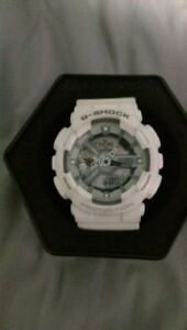 CASIO G SHOCK WHITE