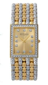 Wittnauer Men's two tone crystal watch