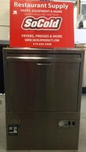 USED !! MOYER DIEBEL HIGH TEMP UNDER COUNTER DISHWASHER