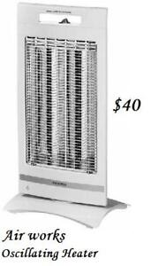 OSCILLATING RADIANT HEATER