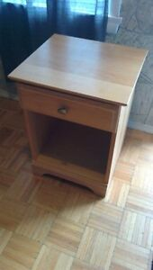 Wooden nightstand - great condition!