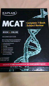 Kaplan MCAT Complete 7-Book Subject Review Second Edition