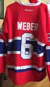 Shea Weber Replica Home Hockey Jersey