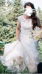 Robe de mariée collection Mori-Lee et voile - négociable