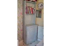 Chalk painted narrow dresser unit storage kitchen living