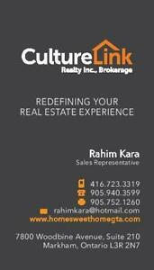 LOOKING TO BUY OR SELL ? Contact me today !!! 416-723-3319⭐️⭐️