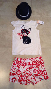 Gymboree Girls French bulldog summer  Size10- 12 #1