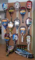Équipement de tennis NEUF, Wilson, Babolat, Head, Yonex.........