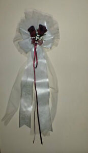 8 Beautifull church Wedding Bows. 8 Belles boucles de mariage