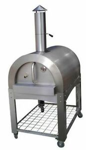 Outdoor Wood Burning Pizza Oven