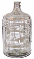 Glass carboys and plastic pails