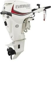 Evinrude 15HP Tiller and Remote Kicker Outboards