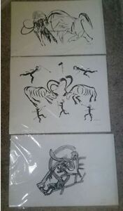 Paleolithic Limited Edition Prints-$50 each Strathcona County Edmonton Area image 1