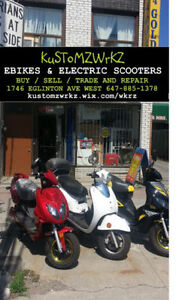KUSTOMZWRKZ - MAKING YOUR EBIKE KEEP UP WITH TRAFFIC TODAY!!!