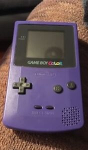 Gameboy Color (early version) with game