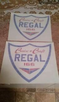 2x cruise craft regal stickers Springwood Logan Area Preview