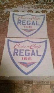 2x New Cruise Craft regal stickers Springwood Logan Area Preview