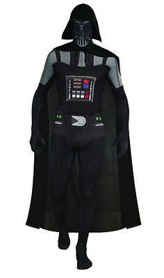 2nd Skin Darth Vader  Star Wars Second Skin Kostüm für Erwachsene ()