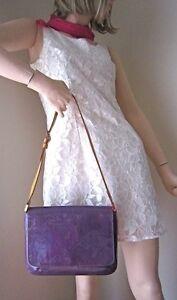 Louis Vuitton Thompson Street Vernis Purple Shoulder Bag North Shore Greater Vancouver Area image 4