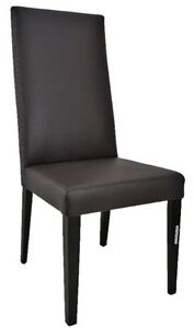 Restaurant DINING CHAIRS BARSTOOLS in LEATHER N FABIC
