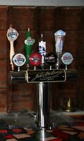 Stainless Steel 4 Spout Draft Beer Tower