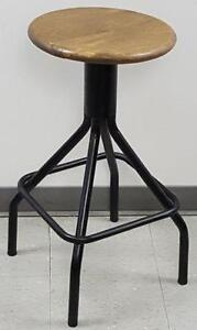 4 - Industrial Fixed Leg Bar Stool on Clearance Sale Price